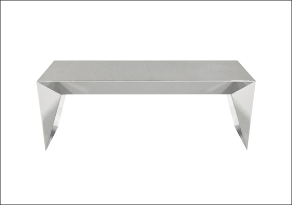 MIRAGE stainless steel bench